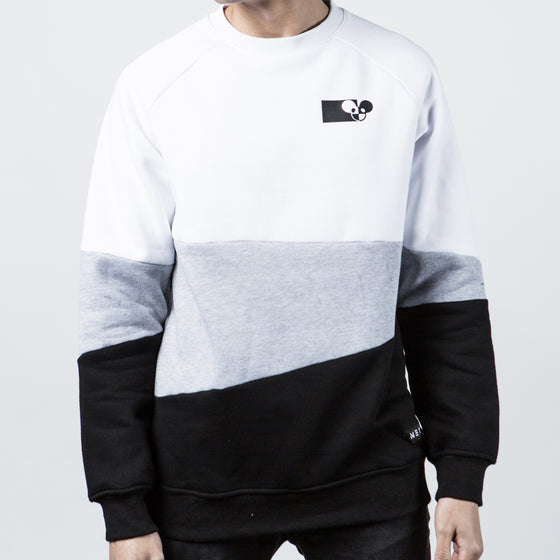 deadmau5 x Meta - ASYMMETRY CREW SWEATER