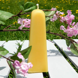 Beeswax Small Pyramid Candle