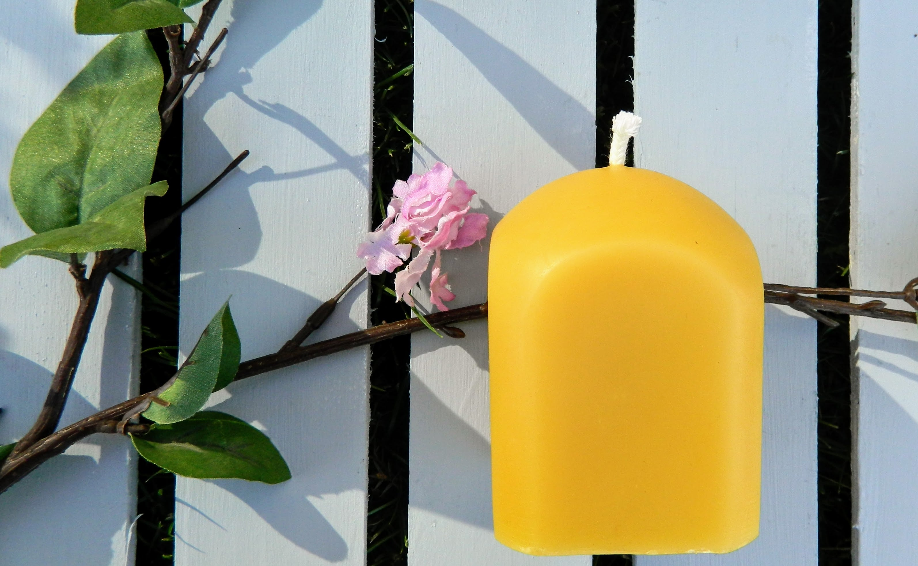 Beeswax Square Pillar Candle
