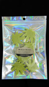 Lemongrass Large Marijuana Shaped Melts