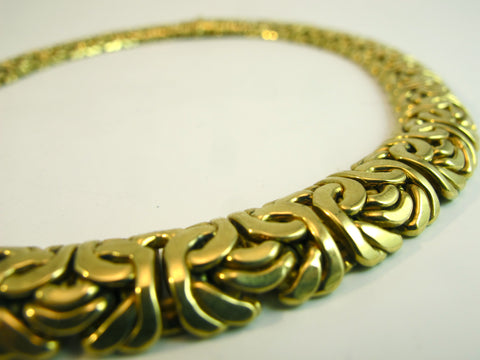 Italian 18kt Yellow Gold Necklace