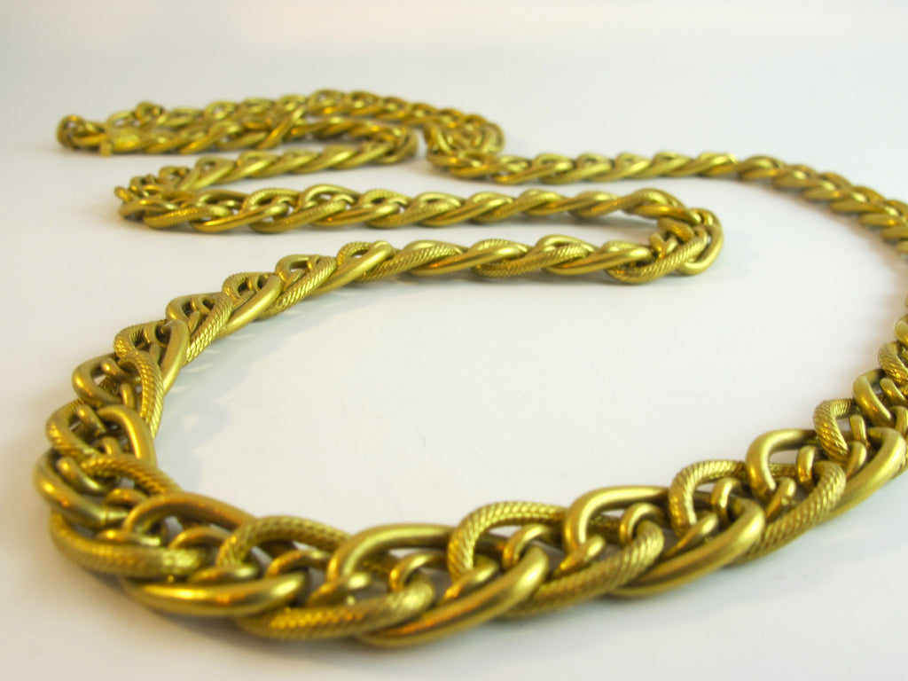 Hand-Made 22kt Yellow Gold Chain from Turkey