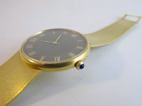 Vintage Baume-Mercier 18kt Yellow Gold Watch