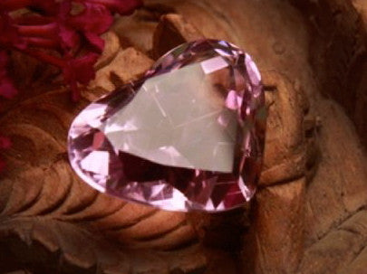 Natural Kunzite Heart 42.83ct