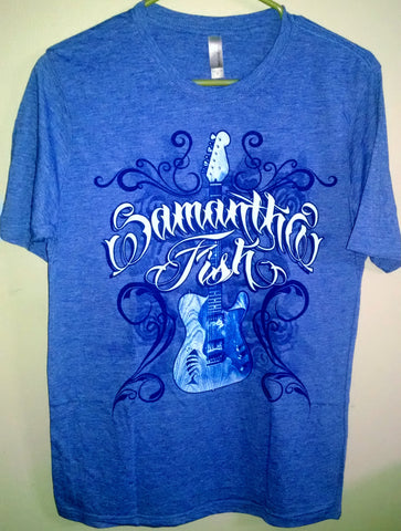 Royal Blue Delaney T-shirt