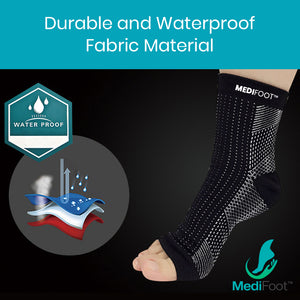 MediFoot™ Copper Infused Magnetic Foot Support Compression - Medifoot