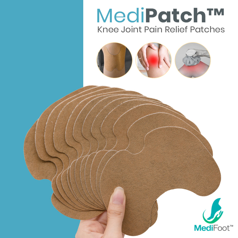 MediPatch™ Knee Joint Pain Relief Patches (12pcs) - Medifoot