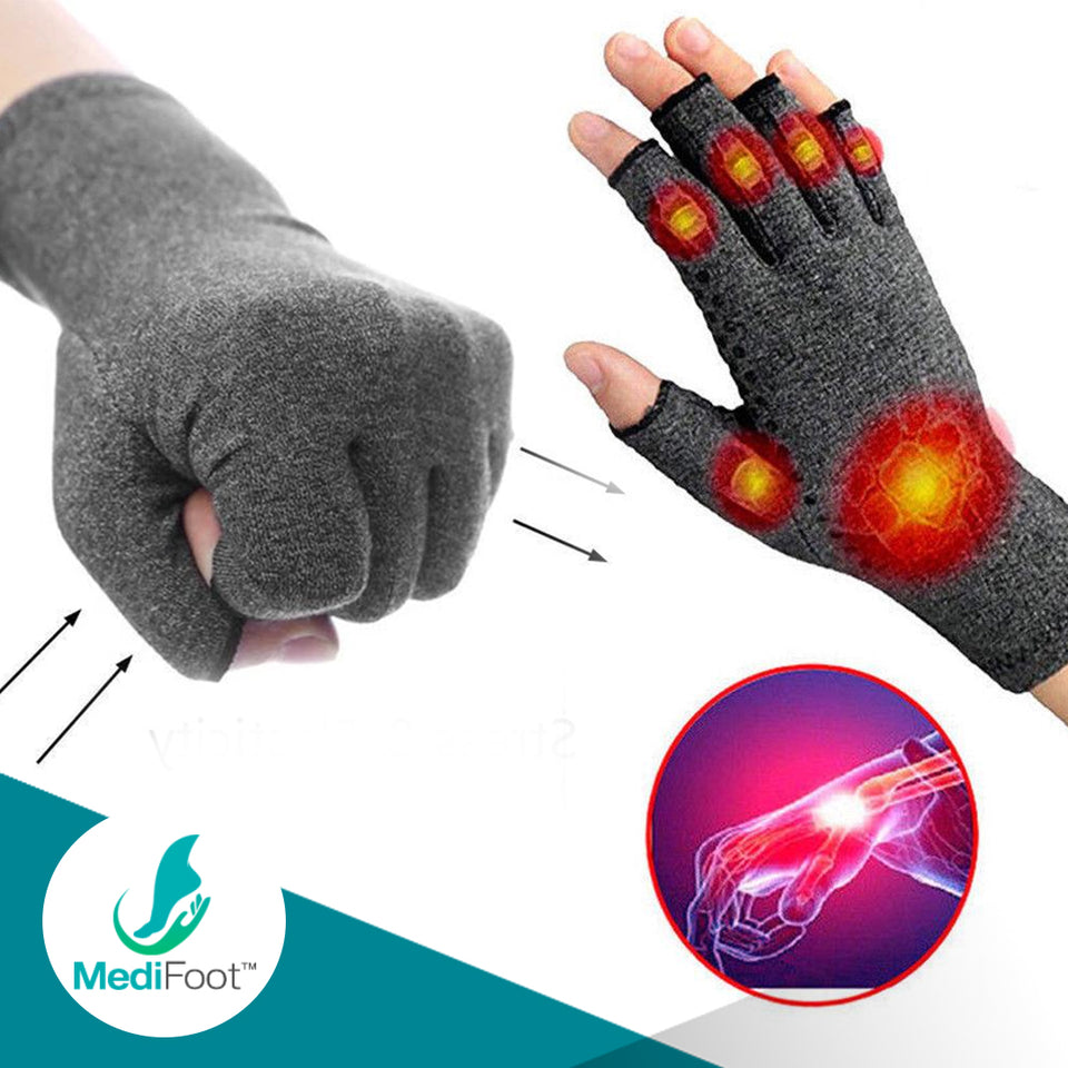 Mediglov™ Pro Compression Gloves for Arthritis, Osteoarthritis and Tendonitis - Medifoot