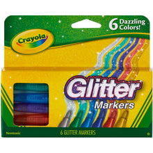 Load image into Gallery viewer, Crayola Glitter Markers