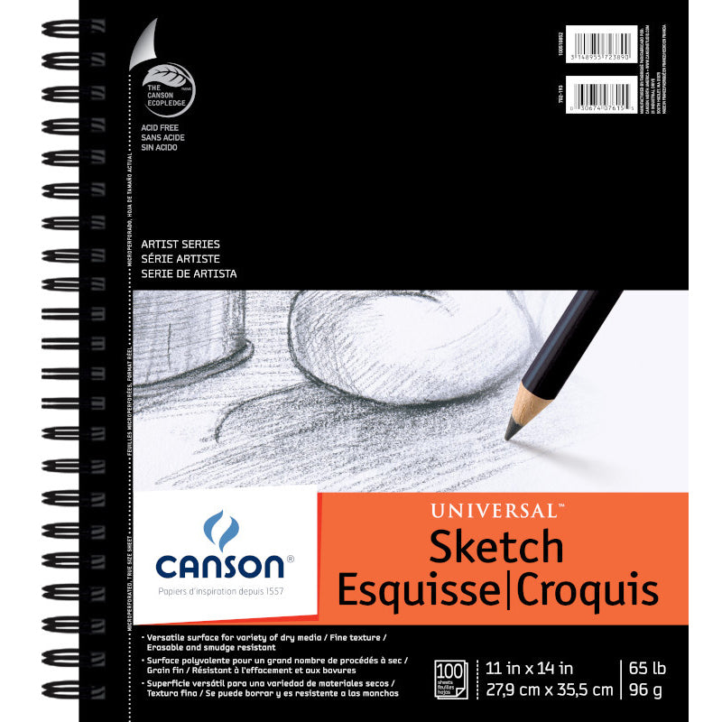 Canson Universal Sketch Pad 5.5x8.5