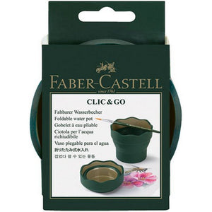 Faber-Castell Clic & Go Foldable Water Pot