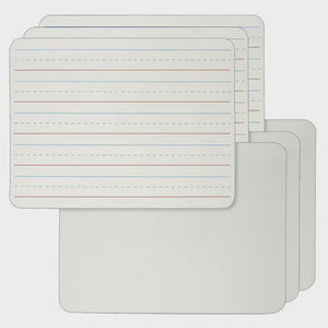 Reversible Dry Erase Lapboard Set