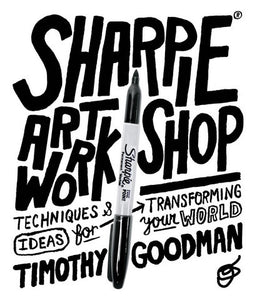 Sharpie Art Workshop Coloring Book