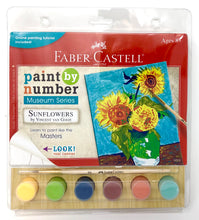 Load image into Gallery viewer, Faber-Castell Paint By Numbers Museum Series Kit