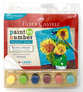 Faber-Castell Paint By Numbers Museum Series Kit