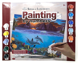 Royal & Langnickel Painting by numbers