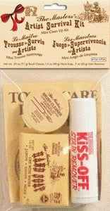 """The Masters"" Artist Survival Mini Clean Up Kit"