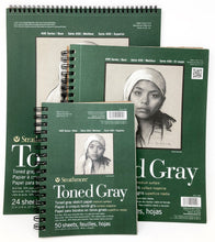Load image into Gallery viewer, Strathmore Toned Grey Sketch Pad 400, Recycled