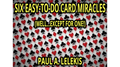 6 EZ-TO-DO CARD MIRACLES by Paul A. Lelekis eBook DOWNLOAD - Fabbrica Magia