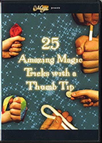 Amazing Magic 25 Tricks with a Thumb Tip - Fabbrica Magia