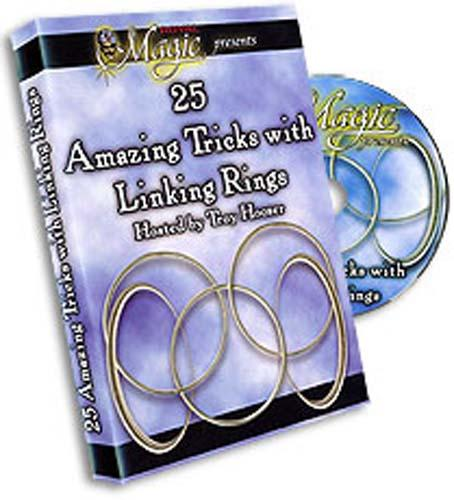AMAZING TRICKS WITH LINKING RINGS BY HAMPTON RIDGE - DVD - Fabbrica Magia
