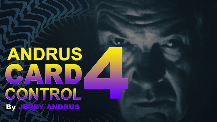 Andrus Card Control 4 by Jerry Andrus Taught by John Redmon video DOWNLOAD - Fabbrica Magia