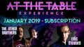 At The Table January 2019 Subscription video DOWNLOAD - Fabbrica Magia