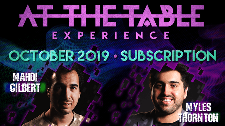 At The Table October 2019 Subscription video DOWNLOAD - Fabbrica Magia