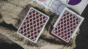 Card College (Red) Playing Cards by Robert Giobbi and TCC - Fabbrica Magia