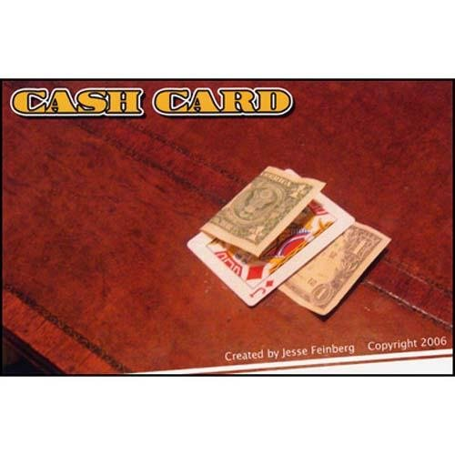CashCard by Jesse Feinberg - Fabbrica Magia