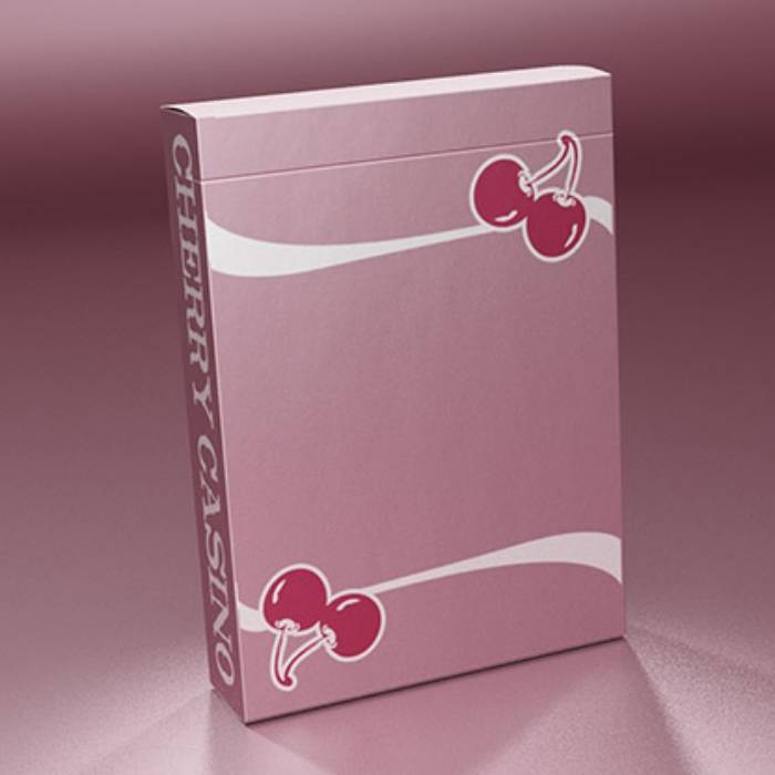 Cherry Casino Flamingo Quartz (Pink) Playing Cards By Pure Imagination Projects - Fabbrica Magia