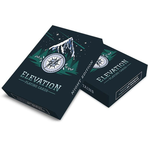 Elevation Playing Cards - Night Edition - Fabbrica Magia