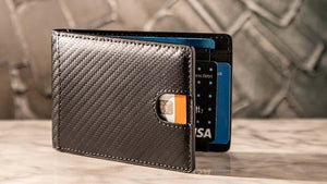 FPS Wallet Black (Gimmicks and Online Instructions) by Magic Firm - Fabbrica Magia