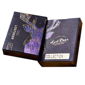 Lost Deer Playing Cards Black edition - Fabbrica Magia
