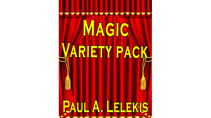 Magic Variety Pack I by Paul A. Lelekis Mixed Media DOWNLOAD - Fabbrica Magia