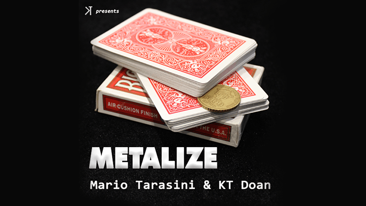 Metalize by Mario Tarasini and KT video DOWNLOAD - Fabbrica Magia