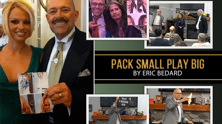 PACK SMALL PLAY BIG by Eric Bedard video DOWNLOAD - Fabbrica Magia