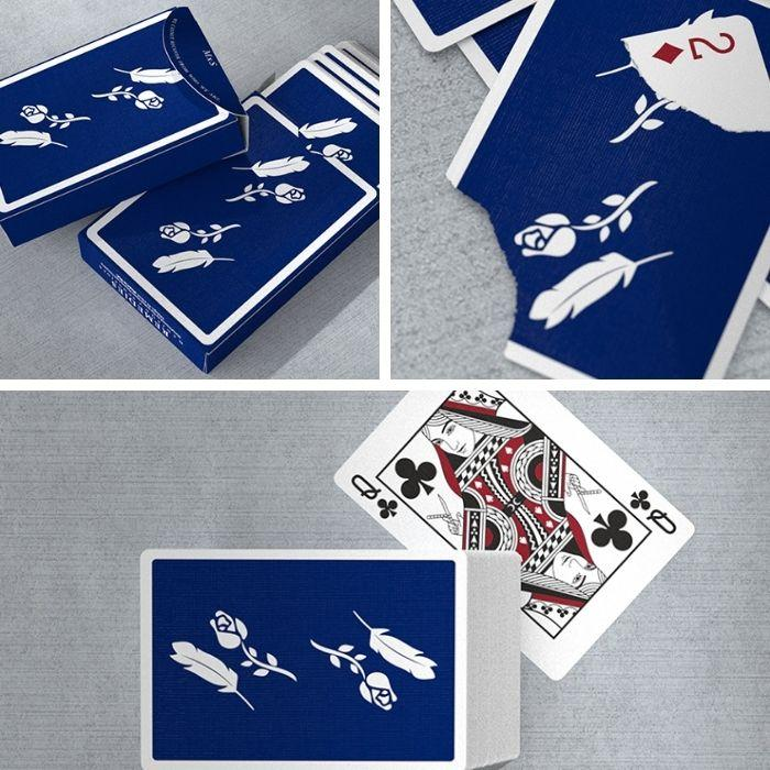 Remedies (Royal Blue) Playing Cards by Madison x Schneider - Fabbrica Magia