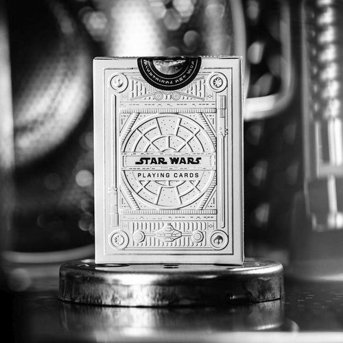 Star Wars Playing Cards - Silver Special Edition - Light Side - Fabbrica Magia