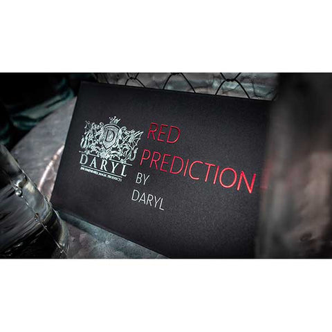 The Red Prediction (Gimmicks and Online Instruction) by DARYL - Fabbrica Magia