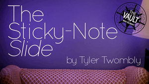 The Vault - The Sticky-Note Slide by Tyler Twombly video DOWNLOAD - Fabbrica Magia