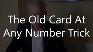 TOCAANT (The Old Card At Any Number Trick) by Brian Lewis video DOWNLOAD - Fabbrica Magia