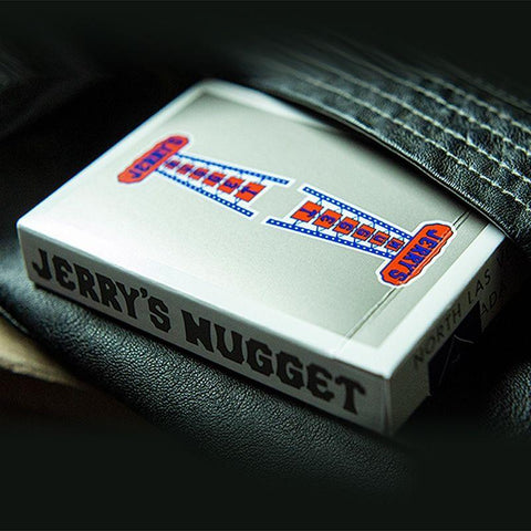 Vintage Feel Jerry's Nuggets (Steel) Playing Cards - Fabbrica Magia
