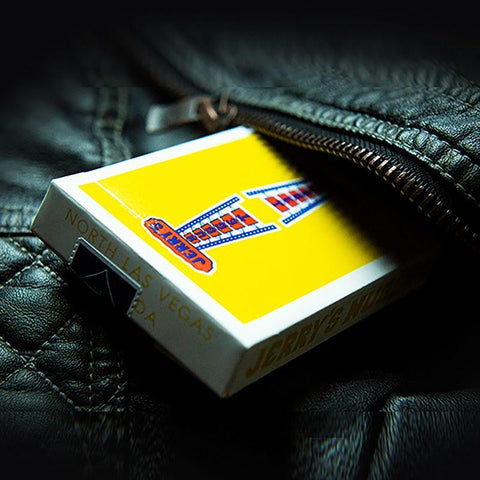 Vintage Feel Jerry's Nuggets (Yellow) Playing Cards - Fabbrica Magia