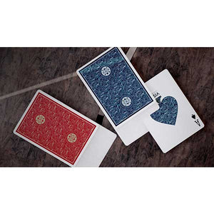VISA Playing Cards Red Mazzo Di Carte Bicycle - Fabbrica Magia