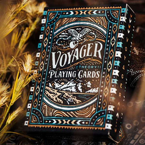 Voyager Playing Cards by theory11 - Fabbrica Magia