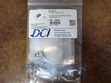 DCI PN: 3085 Syringe Button with Spring, Quick-Clean (PN: 3099, Quantity of 10)