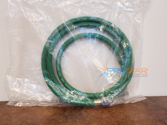 PORTER O2 Oxygen Supply Hose Non-Conductive with Female Connectors 5 Feet