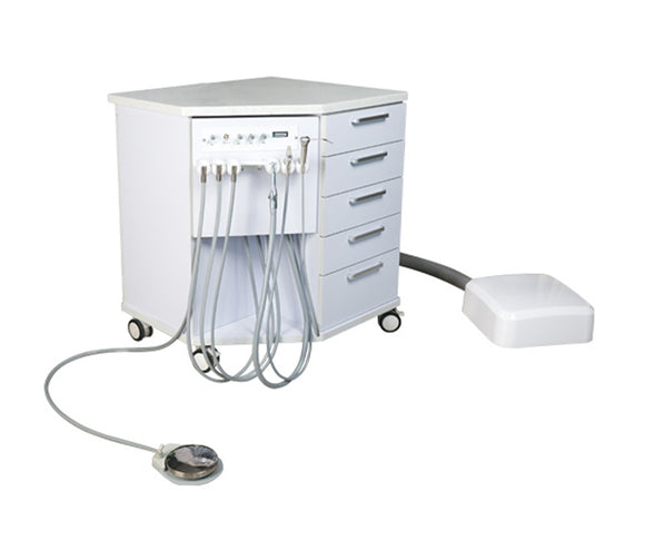 ADS Orthodontic Mobile Cart Cabinet - Enlarged