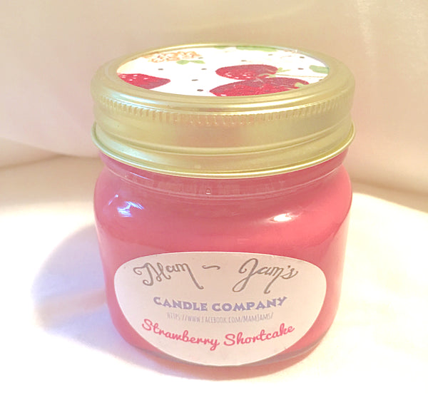 Strawberry Shortcake - Mam Jam's Candle Company